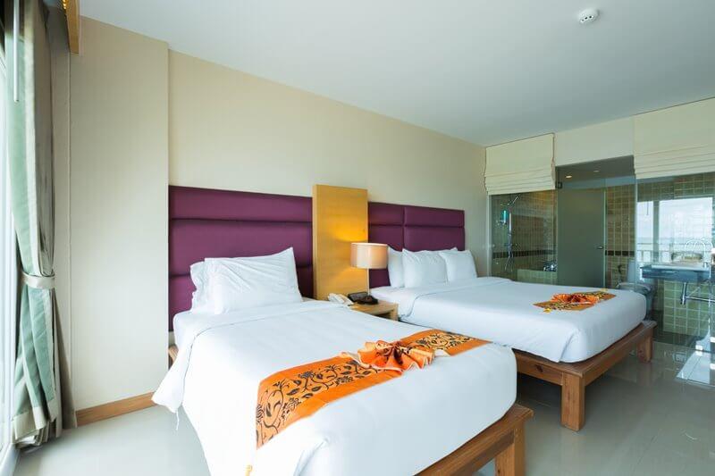 Royal Phala Cliff Beach Resort & Spa : Panorama room