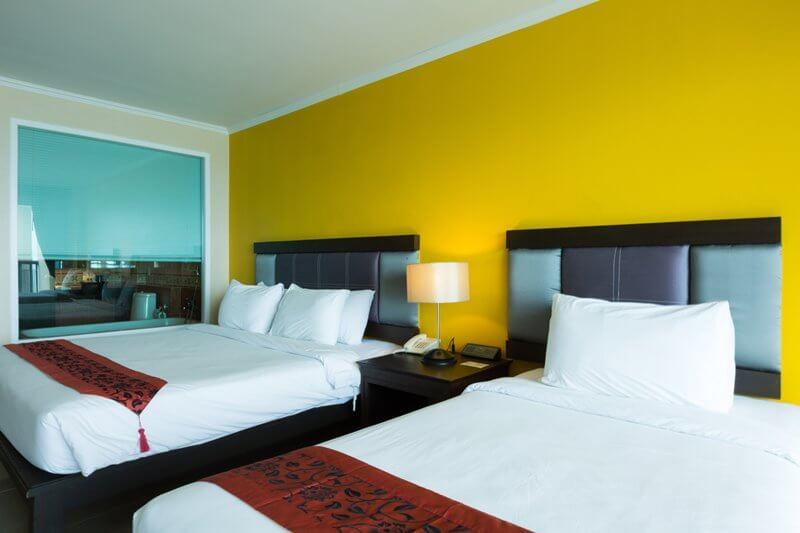Royal Phala Cliff Beach Resort & Spa : Pavilion room